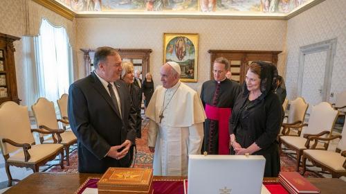 ForPost - Папа римский отказался встречаться с госсекретарём США