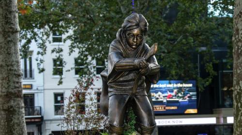 ForPost - В центре Лондона появился памятник Гарри Поттеру