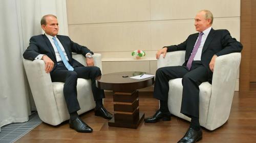 ForPost - Медведчук попросил Путина содействовать снятию санкций России против предприятий Украины
