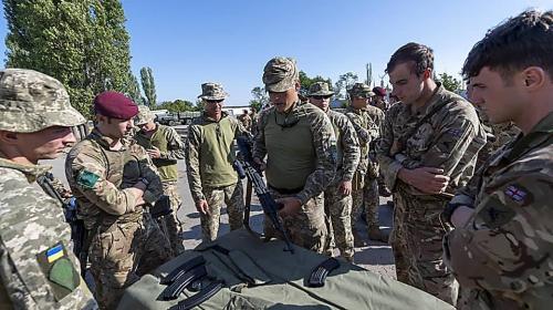 ForPost - Украина готова разместить на своей территории британских десантников