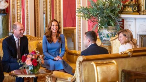ForPost- Чета Зеленских посетила Букингемский дворец