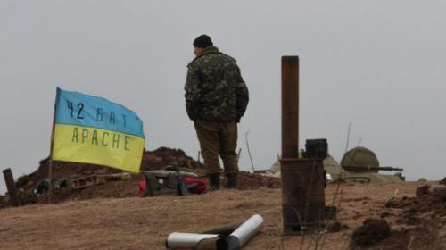 ForPost - Жители Нового Айдара устроили гонения киевских силовиков из поселка