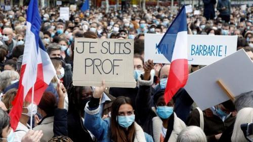 ForPost - Прогресс варварства: французского учителя убил «этнический россиянин»