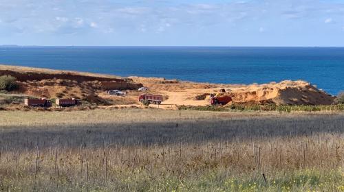 ForPost - У берегов Севастополя возобновились активные земляные работы