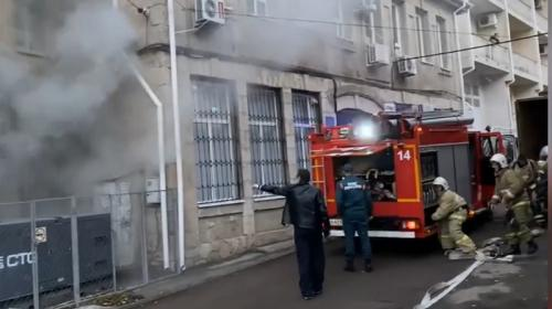 ForPost- В крымском храме во время службы начался пожар