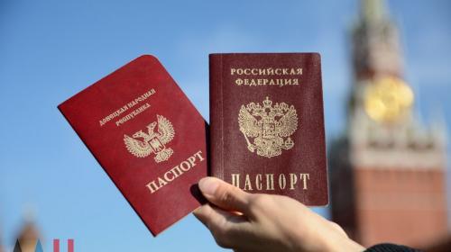 ForPost - Песков: предоставляя гражданство жителям Донбасса, Россия защищает этнических русских