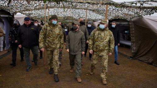 ForPost - Зеленский призвал украинских пограничников быть готовыми к захвату российской границы