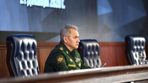 ForPost- Министр обороны попросил у Путина больницу для севастопольских военных