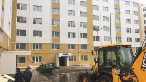 ForPost- Строительные работы в доме для реабилитированных в Севастополе продолжаются