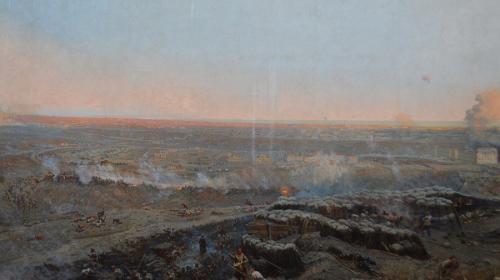 ForPost- В Севастополь вернут вывезенные в Великую Отечественную фрагменты панорамы Рубо