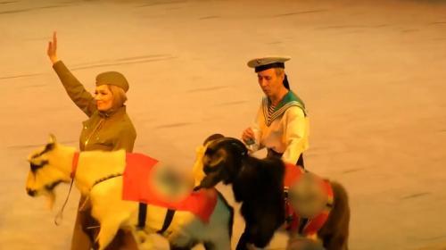 ForPost - Российский цирк устроил шоу с козлами-нацистами и свастикой