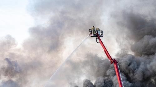 ForPost - Найден способ предотвратить предсмертные репортажи с места пожара