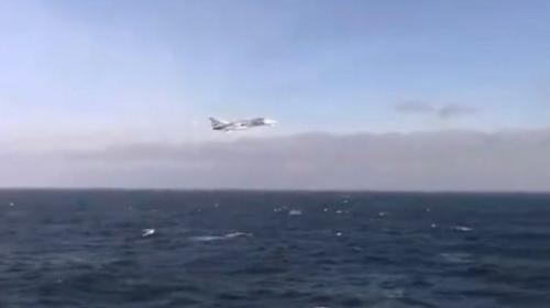 ForPost- Американские военные в Черном море снимают российские истребители