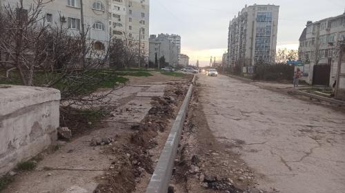 ForPost- Жителей улицы Маячная в Севастополе вытащат из грязи
