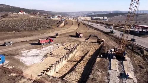 ForPost- Как строят развязку на Ялтинском кольце в Севастополе