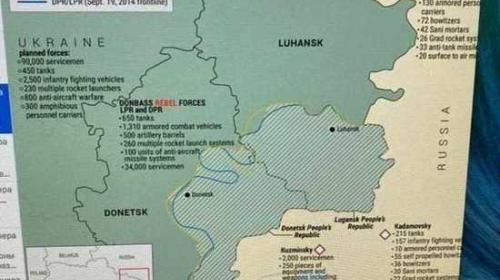 ForPost - Разведслужбы США подсчитали группировки войск на Донбассе