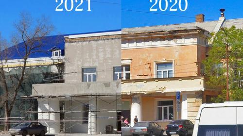 ForPost- В Севастополе частично восстановят облик исторического здания на Ластовой