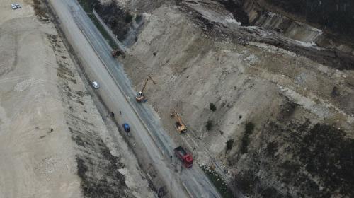 ForPost- Движение по Президентской дороге из-за оползня в Севастополе восстановят к утру
