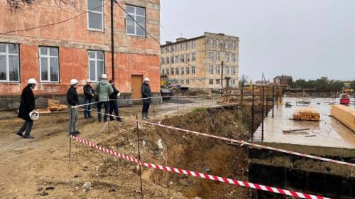 ForPost- Новую школу на 450 мест начали строить на Северной стороне Севастополя