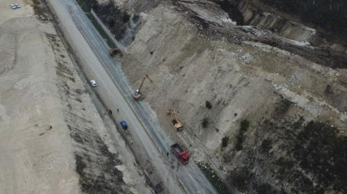 ForPost- Движение по Президентской дороге в Севастополе восстановлено с полудня