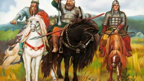 ForPost - Трех русских богатырей назвали украинцами