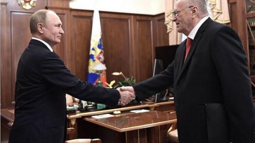 ForPost - Путин наградил Жириновского орденом