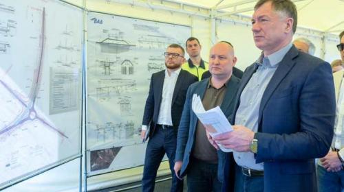 ForPost- Хуснуллин назвал сроки завершения строительства съездов с «Тавриды»
