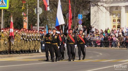 ForPost - В Севастополе прошла генеральная репетиция парада Победы
