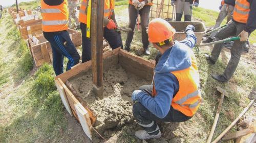 ForPost - Под стенами Херсонеса продолжается немое строительство