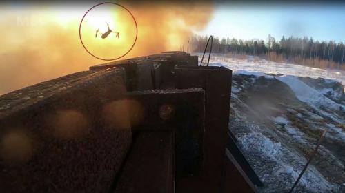 ForPost- В России опубликовали видео испытаний нового секретного оружия
