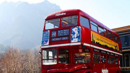 ForPost- В Севастополе могут появиться двухэтажные голубые автобусы