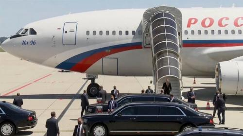 ForPost - Путин прибыл на встречу с Байденом. Видео