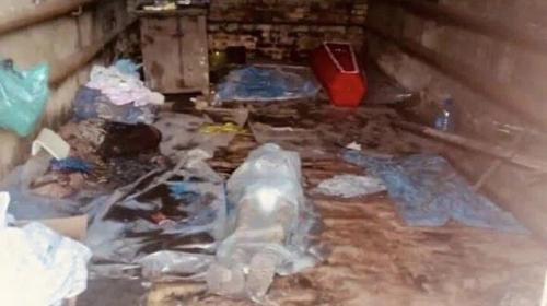 ForPost - Трупы людей вместо морга хранили в заброшенном гараже