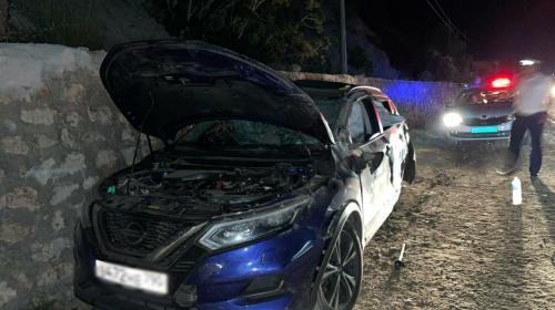 ForPost- Машина с детьми пострадала в ДТП под Севастополем