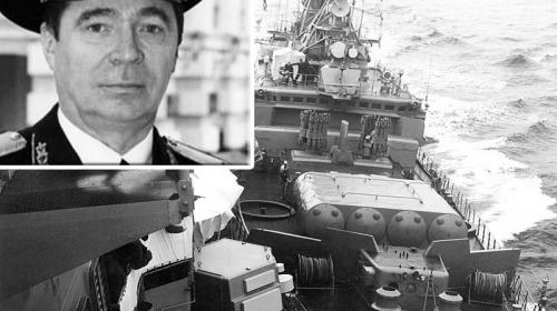 ForPost- Умер таранивший крейсер США у берегов Севастополя контр-адмирал Богдашин