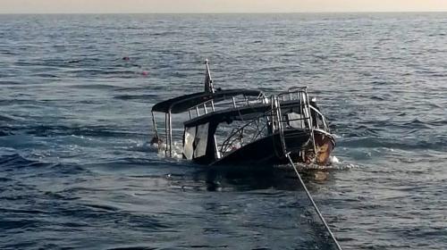 ForPost- «Ну очень большая!» Стали известны детали перевернутого из-за медузы катера