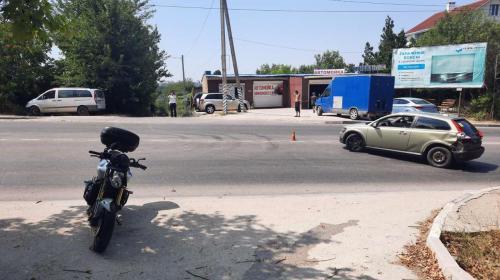 ForPost- В Севастополе водитель иномарки сбил мотоциклиста