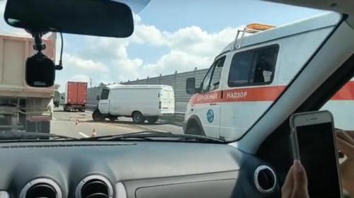 ForPost- На крымской трассе смертельное ДТП с участием военного грузовика