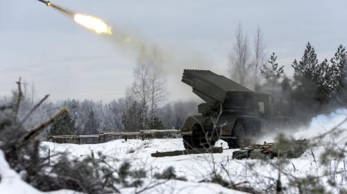 ForPost- В США оценили разработку «робокатюши» в России, способную одним залпом сметать деревни