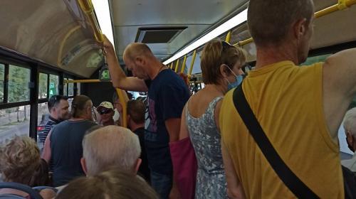 ForPost- Пассажиропоток в транспорте Севастополя вырос на 20%