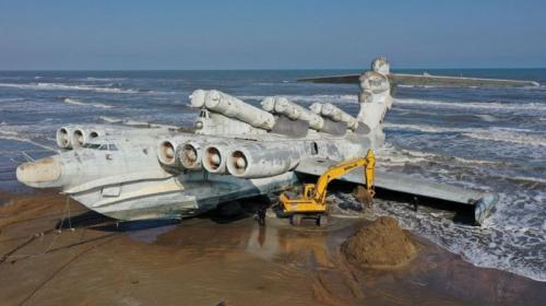 ForPost- В Америке решили воссоздать «морского монстра» СССР