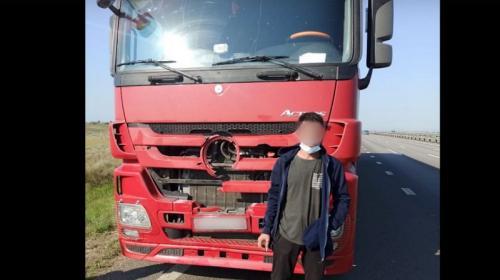 ForPost- В Крыму пьяный дальнобойщик насмерть сбил пешехода и уехал