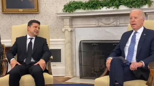 ForPost - В Киеве сочли встречу Байдена и Зеленского переходом отношений на новый уровень