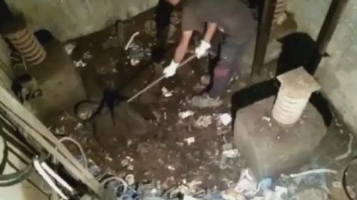 ForPost- В кабине заброшенного лифта нашли скелет