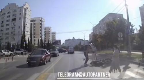 ForPost - В Севастополе сбитый пешеход чуть не избил мотоциклиста