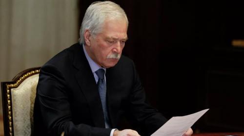 ForPost - Грызлов заявил об отказе Украины возвращаться к переговорам в Минске