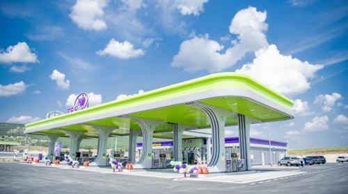 ForPost - Первый автозаправочный комплекс TES на трассе Таврида официально введен в эксплуатацию