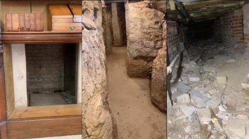 ForPost- Мужчина обнаружил тайные катакомбы у себя под домом. Видео