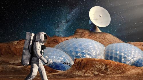 ForPost- Марсианский «бетон» собираются делать на крови и слезах космонавтов