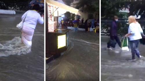 ForPost- Какие сюрпризы преподнёс Севастополю первый осенний ливень